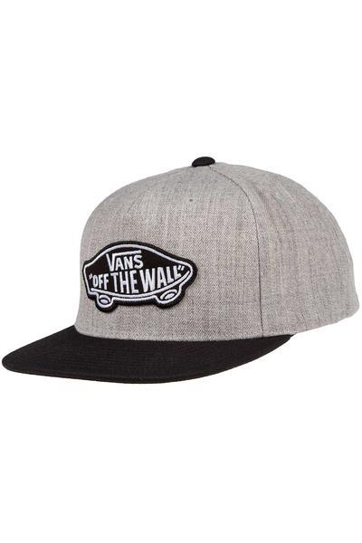 Vans Classic Patch Snapback Cap (heather grey black)