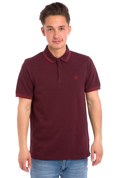 Element Freddie Polo-Shirt (brown purple)