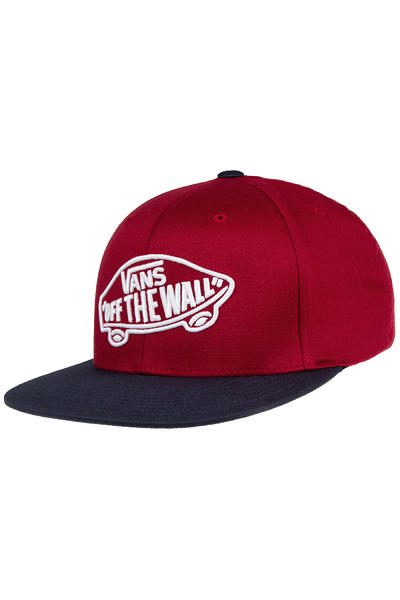 Vans Home Team FlexFit Cap (rhubarb dress blues)