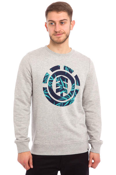 Element Nam Palm Fill Sweatshirt (grey heather)