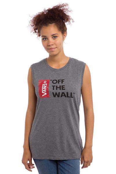Vans Authentic Anthem 2 Camiseta de tirantes women (grey heather)