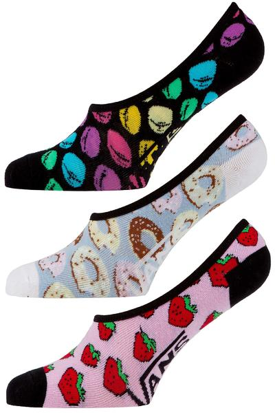 Vans Midnight Snackpack Socken 3er Pack US 7-10 women (pastels)