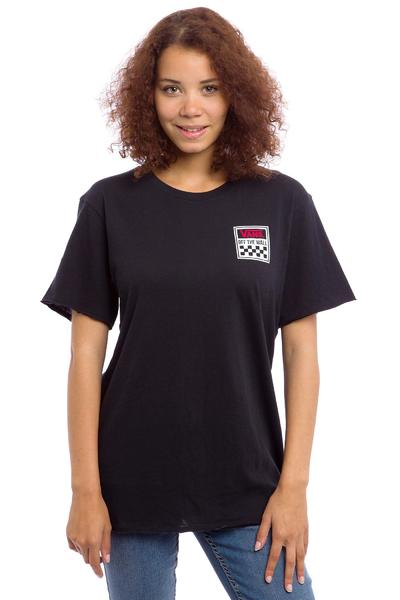 Vans Square Pegged T-Shirt women (black)