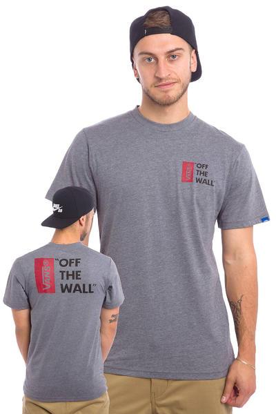Vans Off The Wall III T-Shirt (heather grey)