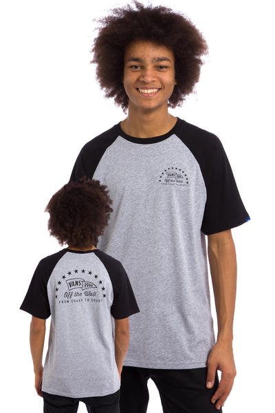 Vans Flagged Raglan T-Shirt (athletic heather)