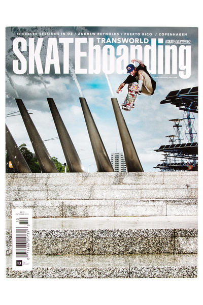 Transworld Oktober 2015 Revista