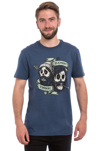 Element x Timber! Bygone Brothers T-Shirt (midnight blue)