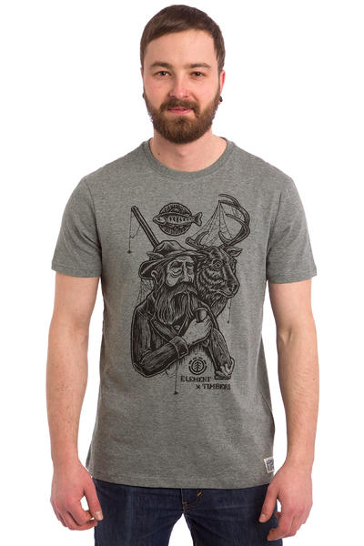 Element x Timber! Hunter T-Shirt (grey heather)