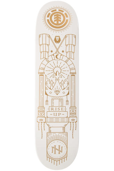"Element Nyjah Rituals 8"" Deck (white gold)"