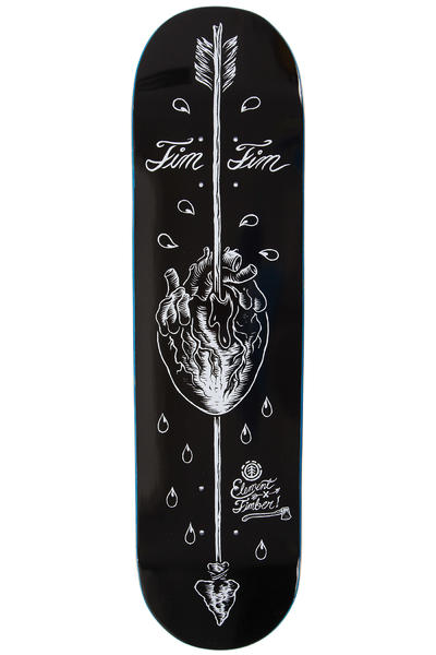 "Element Tim Tim Arrow Timber 8.125"" Deck (black)"