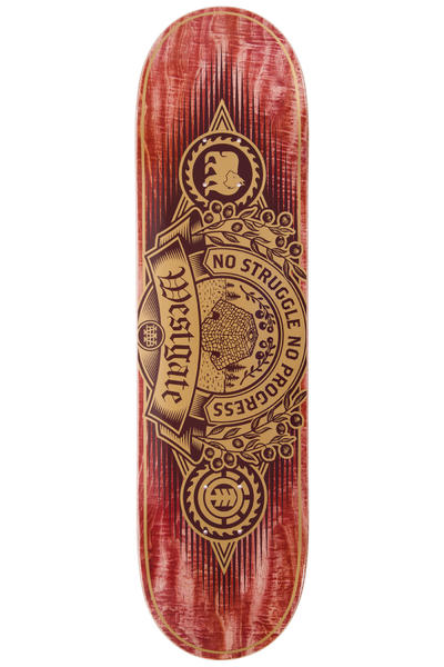 "Element Westgate Carver 8.25"" Deck (red)"
