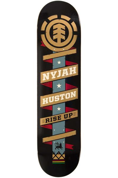 "Element Nyjah Banner 7.75"" Deck (black)"