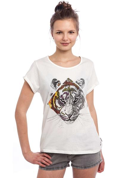 Element Tiger Diamond T-Shirt women (ivory)