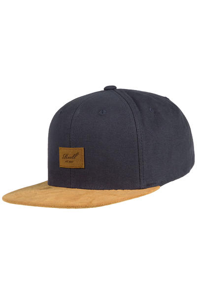 REELL Suede 6 Panel Cap (charcoal)
