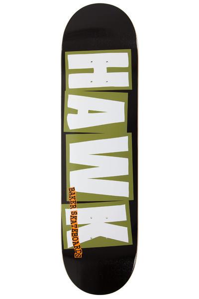 """Baker Hawk Logo 8.25"""" Planche Skate (black olive)"""