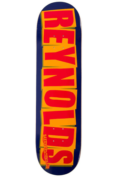 "Baker Reynolds Logo 8.125"" Deck (navy orange)"