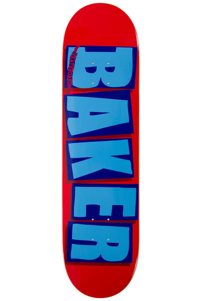 """Baker Brand Logo 8.25"""" Planche Skate (red blue)"""
