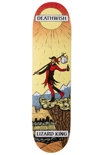 "Deathwish King Tarot Card 8"" Deck (multi)"