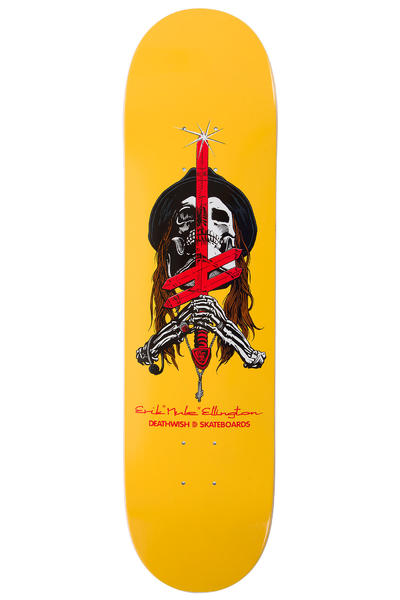 "Deathwish Ellington Sword & Mule 8"" Deck (yellow)"