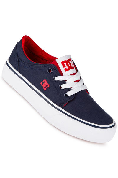 DC Trase TX Shoe kids (navy red)