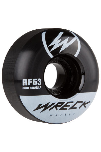 Wreck W1 53mm Roue (black) 4 Pack