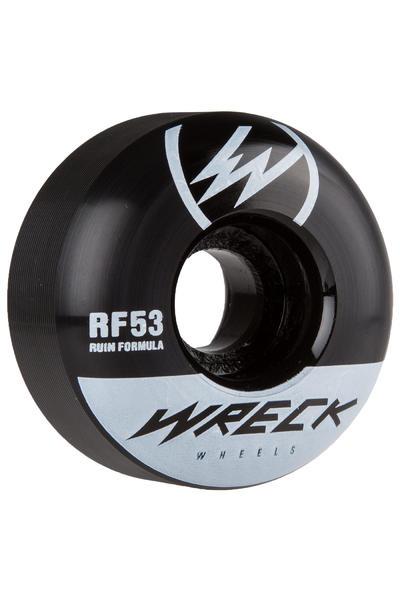 Wreck W1 53mm Rollen (black) 4er Pack