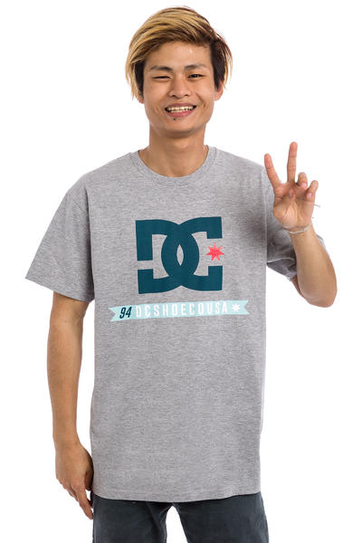 DC Flag Star T-Shirt (heather grey)