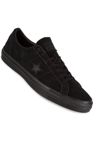 Converse CONS One Star Pro Shoe (black mono)