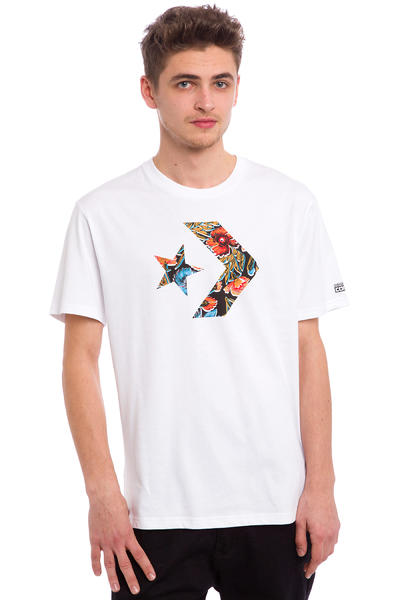 Converse CONS Star Chevron Bodega Floral T-Shirt (converse white)