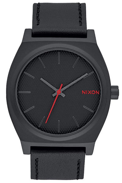 Nixon The Time Teller Uhr (all black stamped)