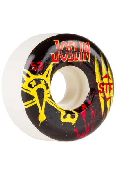 Bones STF Joslin Ex-Men 53mm Rollen (white) 4er Pack