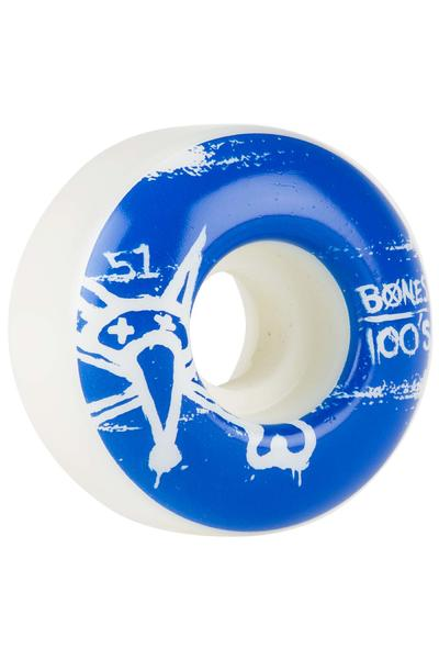 Bones 100's-OG #14 51mm Rollen (white) 4er Pack