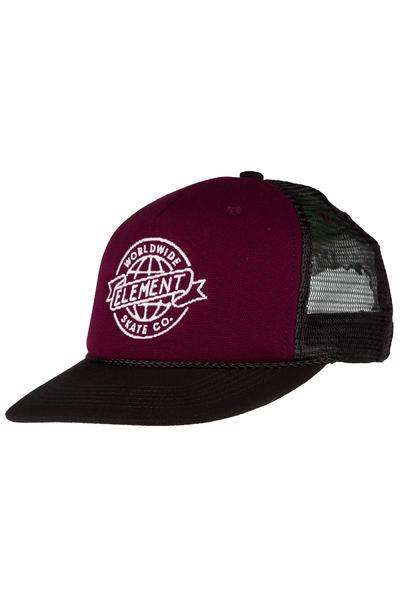 Element Skate-Co Trucker Cap (brown purple)