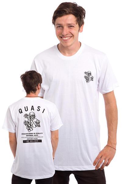 Quasi Skateboards HVAC Camiseta (white)