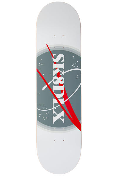 "SK8DLX Outer Space 8.25"" Deck (white grey)"