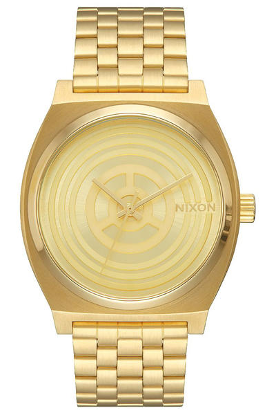 Nixon x Star Wars C-3PO The Time Teller Watch (gold)