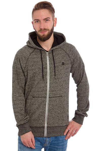 Element Meridian Zip-Hoodie (dark charcoal heather)