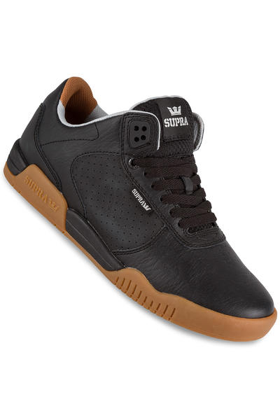 Supra Ellington Leather Shoe (black gum)