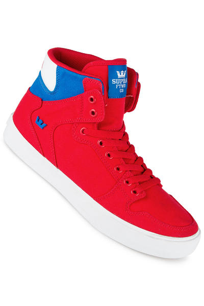 Supra Vaider D Shoe (red royal white)