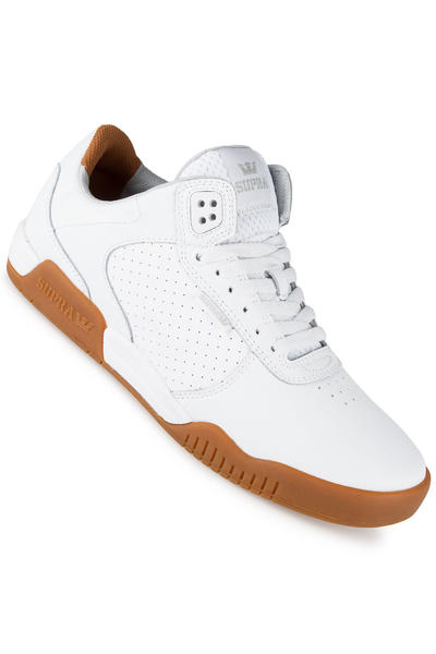 Supra Ellington Leather Shoe (white gum)