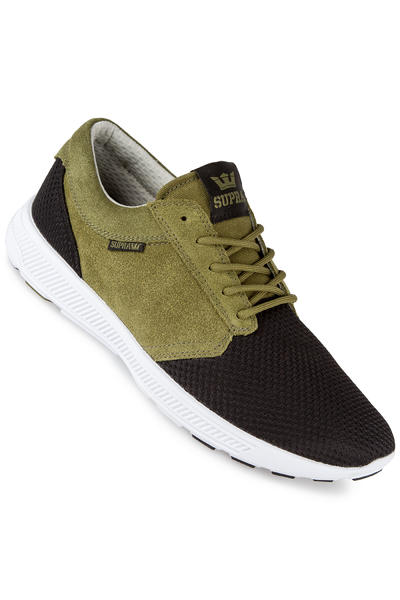 Supra Hammer Run Shoe (olive black white)