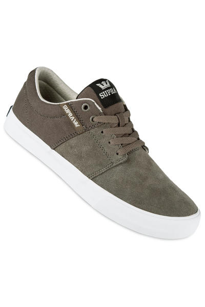 Supra Stacks Vulc II Shoe (morel white)