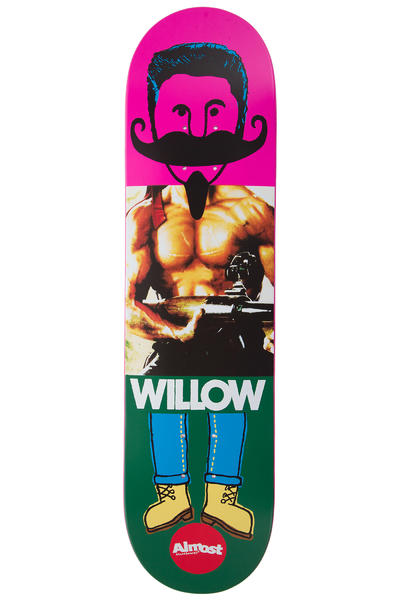 "Almost Willow Remix Dude Impact Light 8"" Deck (multi)"