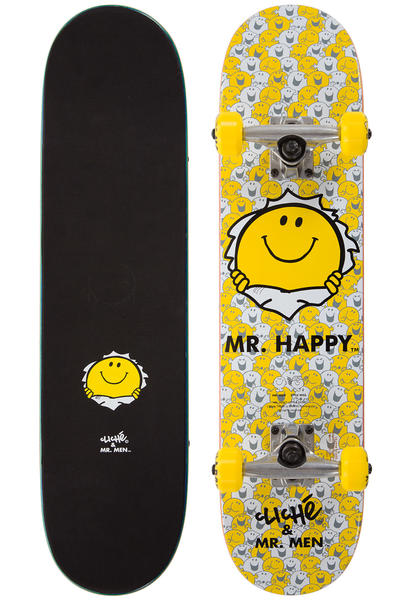"Cliché Mr. Happy Mini 7"" Komplettboard (yellow)"
