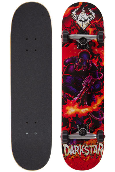 "Darkstar Fire 7.75"" Complete-Board (red)"