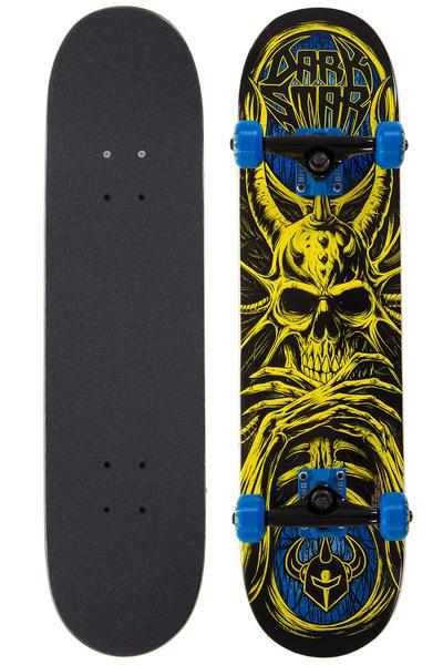 """Darkstar Roots Mid 7.375"""" Komplettboard (yellow blue)"""