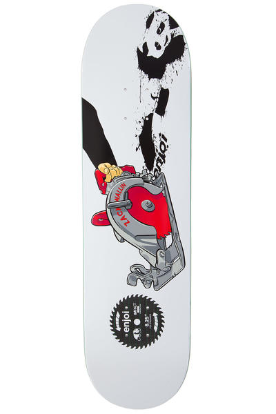 "Enjoi Wallin Skill Saw Impact Plus 8.25"" Deck (white)"