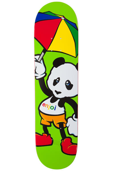 "Enjoi Cartoon Panda 8"" Deck (green)"