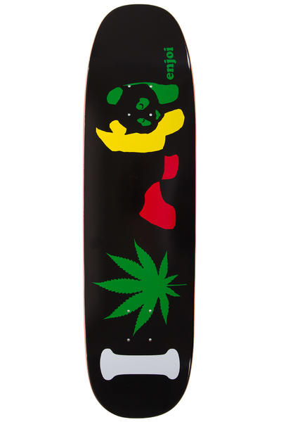 "Enjoi I Love Rasta Panda 8.5"" Deck (black)"