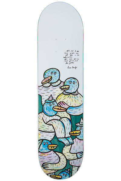 "Inpeddo Welcome Series Lucas Beaufort 8"" Deck (white)"